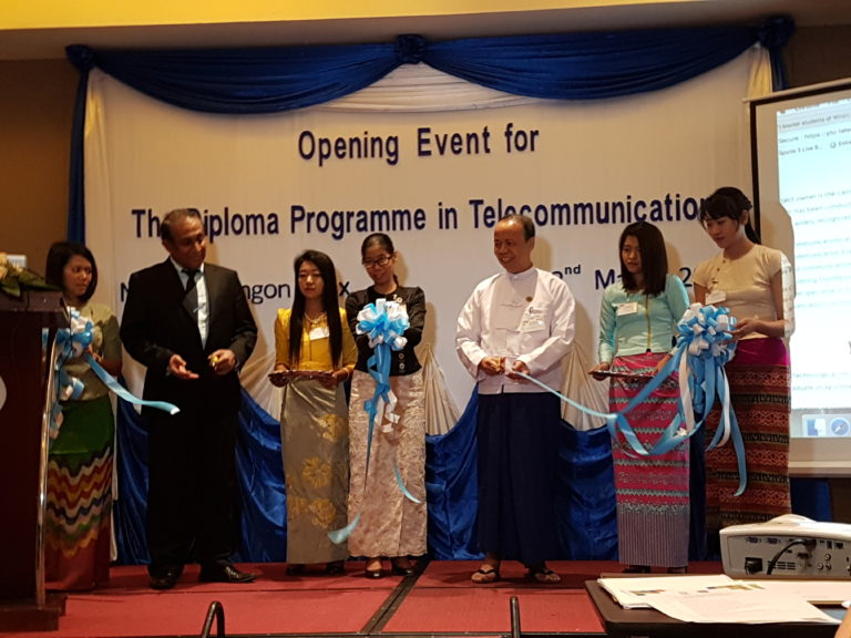 Diploma Programme in Telecommunications launched in Yangon