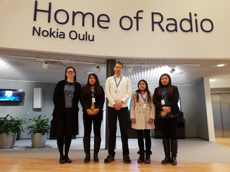 Visiting Nokia R&D site and model factory of the future